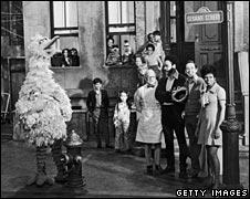 1969 cast of Sesame St