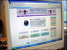 Help from Home website