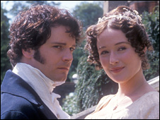 Colin Firth and Jennifer Ehle