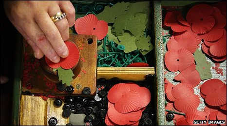 Making poppies