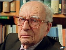 Claude Levi-Strauss in 2001