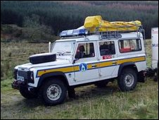 Mountain rescue team