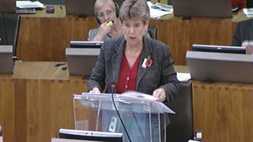 Education Minister, Jane Hutt