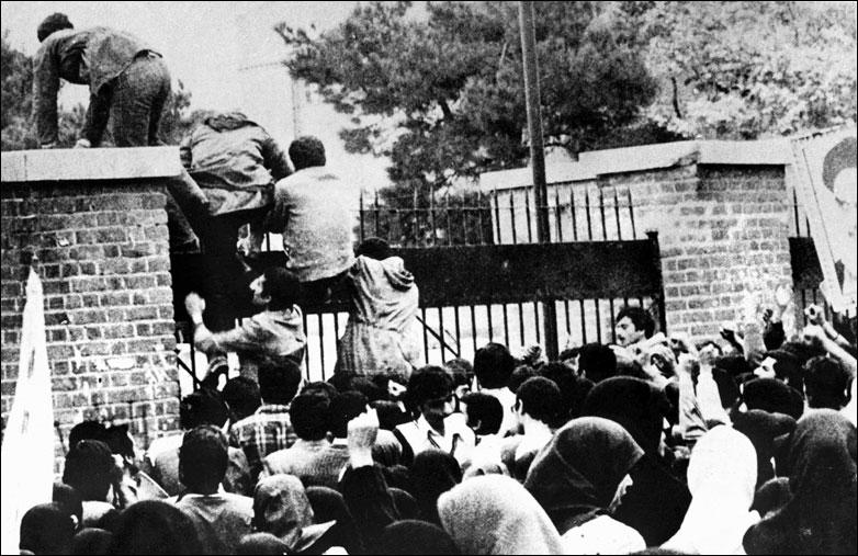 Militant Islamic students storm US embassy in Tehran