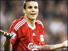 Liverpool defender Philipp Degen