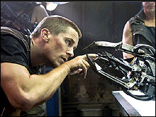 Christian Bale in The Terminator