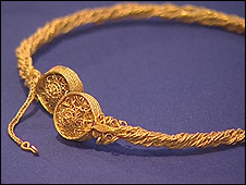 One of the torcs