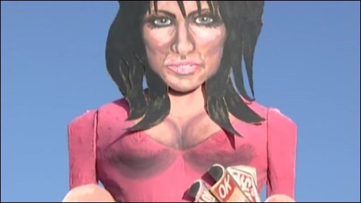 Effigy of Katie Price