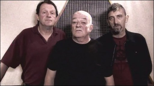 Kevin Whately, Tim Healy and Jimmy Nail