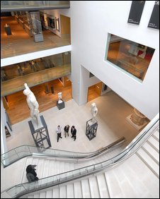 New Ashmolean interior