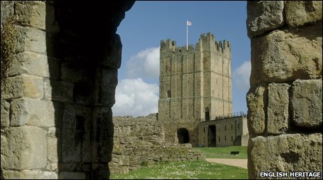 Richmond Castle. Photo: English Heritage