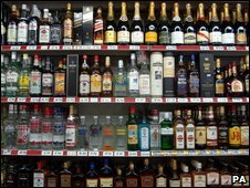 Off licence alcohol