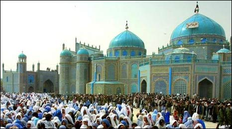 Mazar-e-Sharif Blue mosque (file photo)