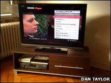 iPlayer on TV
