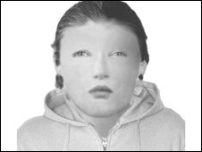 E-fit of female suspect