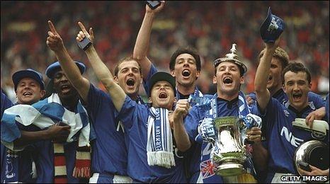 1995 Everton Team
