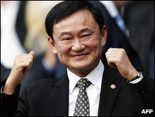 Thaksin Shinawatra (File image 13.9.08)