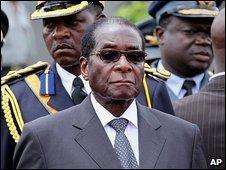 Robert Mugabe 31.10.09