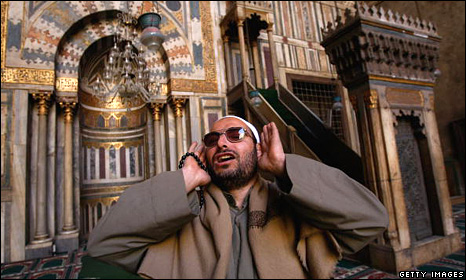 Said al-Rifai calls out the Adhan in Cairo (2009)