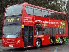 A Reading hybrid fuel bus