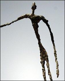 L'homme qui Chavire by Alberto Giacometti