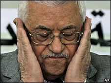 PA leader Mahmoud Abbas, 24.10.09
