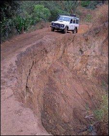 Durrell 4WD in Madagascar