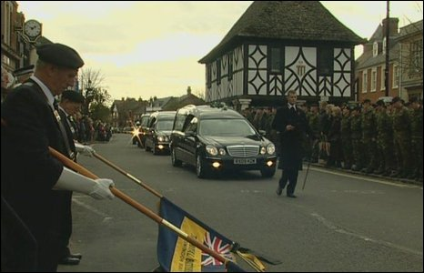 Wootton Bassett procession