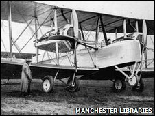 The bomber used by Alcock and Brown