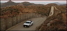 Guards patrol the US-Mexico border