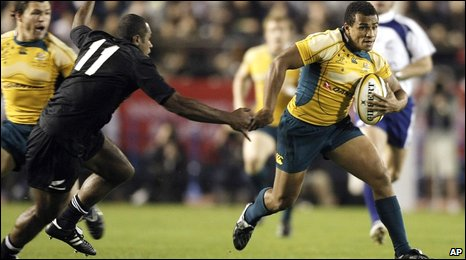 Will Genia in action against New Zealand