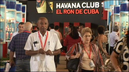 Havana international trade fair
