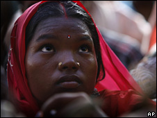 India tribal woman