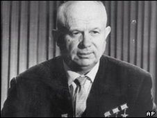 Communist Party First Secretary Nikita Khrushchev