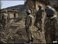 Pakistani soldiers in South Waziristan, 29 Oct 2009