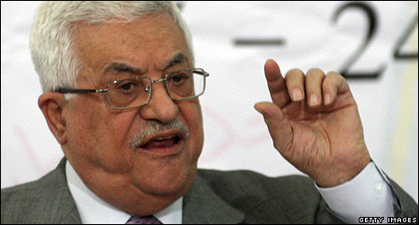 Palestinian Authority President Mhmoud Abbas - Oct 2009