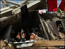 Children in Gaza Strip