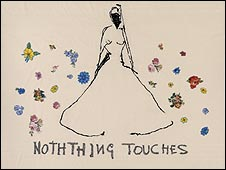Nothing Touches Her by Tracey Emin