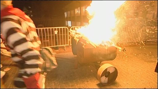 Lewes bonfire procession