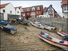 Sheringham boats