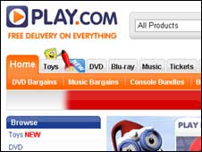 Screengrab of Play.com (Play.com)