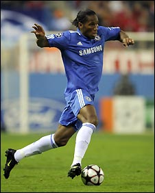 Drogba's good form could cause problems for a makeshift Manchester United defence