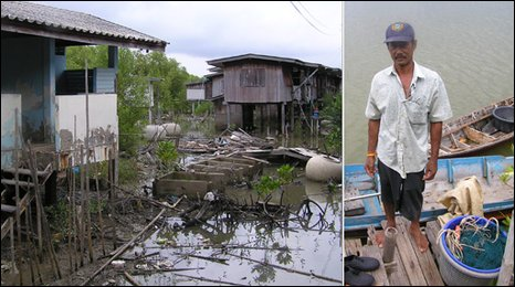 high sea levels in Thailand