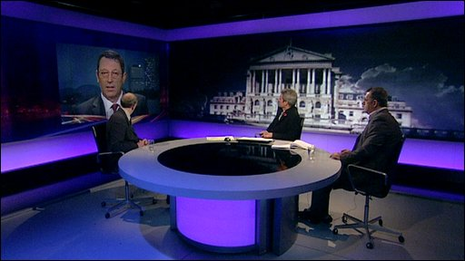 Newsnight discussion panel