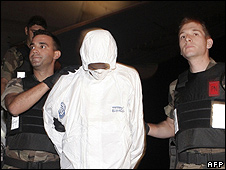 One of the Somali captives held in Spain, 12 Oct 09