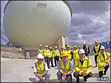 Dounreay staff at the Dome today
