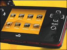 Wiz handheld games console