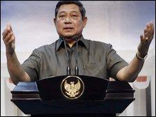 Indonesia President Susilo Bambang Yudhoyono - 30 October 2009