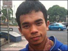Budi - Jakarta resident - 6 November 2009