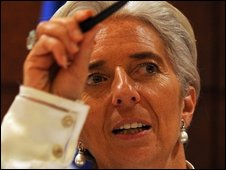 Christine Lagarde, French Finance Minister